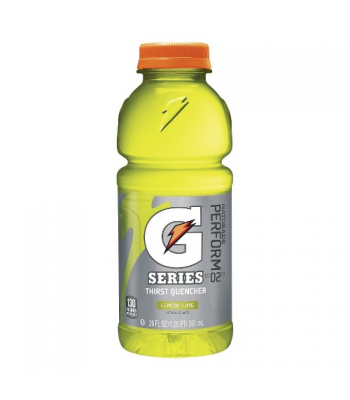 Gatorade Lemon Lime - 20fl.oz (591ml) Energy & Sports Drinks Gatorade