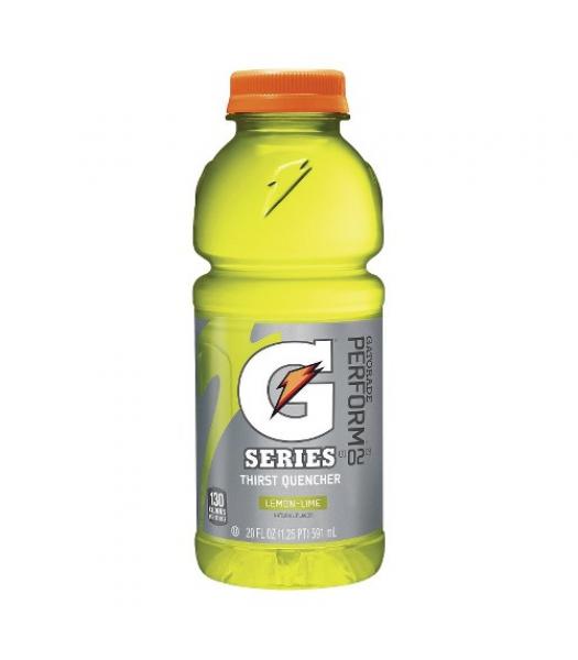 Gatorade Lemon Lime - 20fl.oz (591ml) Energy & Sports Drinks Gatorade