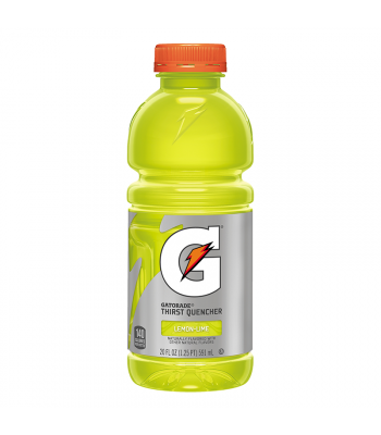 Clearance Special - Gatorade Lemon Lime - 20fl.oz (591ml) **Best Before: Jan 21** Clearance Zone