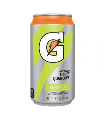 Gatorade Lemon Lime Can - 11.6oz (343ml) Soda and Drinks Gatorade