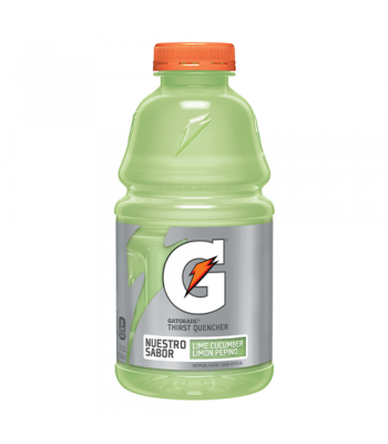 Gatorade Lime Cucumber Thirst Quencher 32oz (946ml) Bottle