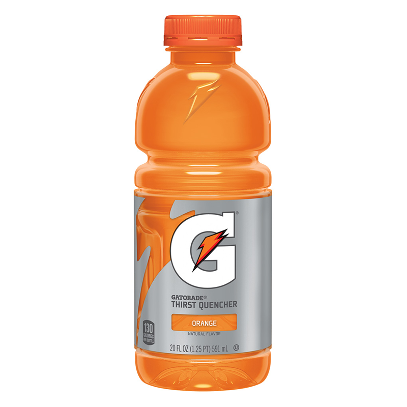 Gatorade Orange 20oz 591ml American Fizz