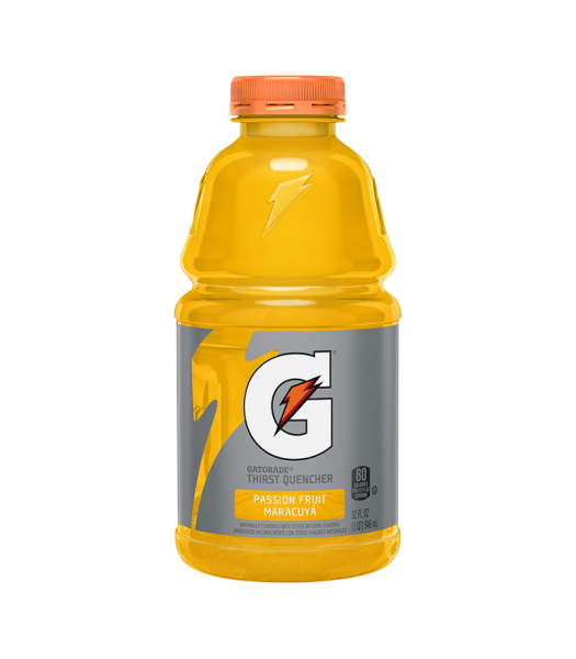 Gatorade Passion Fruit - 32fl.oz (946ml) Soda and Drinks Gatorade