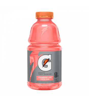 Gatorade Strawberry Kiwi - 32fl.oz (946ml) Soda and Drinks Gatorade
