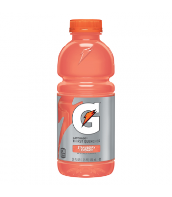 Gatorade Strawberry Lemonade - 20fl.oz (591ml) Soda and Drinks Gatorade