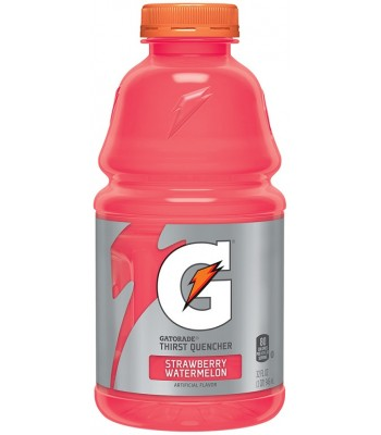 Gatorade Strawberry Watermelon 32oz (946ml) Energy & Sports Drinks Gatorade