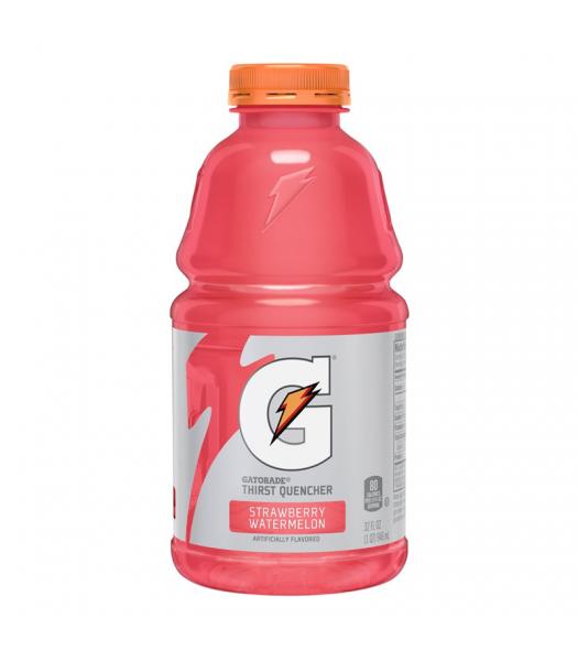 Gatorade Strawberry Watermelon 32oz (946ml) Energy & Sports Drinks Gatorade