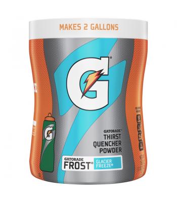Gatorade Thirst Quencher Powder - Frost Glacier Freeze - 18.3oz (521g) Soda and Drinks Gatorade