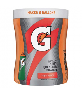 Gatorade Thirst Quencher Powder - Fruit Punch - 18.3oz (521g) Soda and Drinks Gatorade