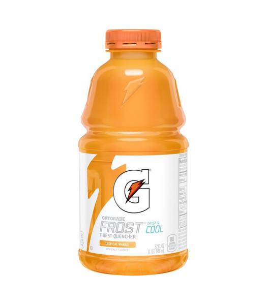 Gatorade Frost Tropical Mango - 32fl.oz (946ml) Soda and Drinks Gatorade