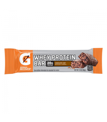 Gatorade Whey Protein Bar - Chocolate Chip - 2.8oz (80g) Sweets and Candy Gatorade