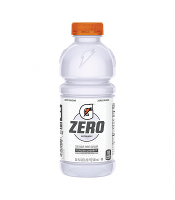 Gatorade Zero Sugar Glacier Cherry - 20fl.oz (591ml) Soda and Drinks Gatorade