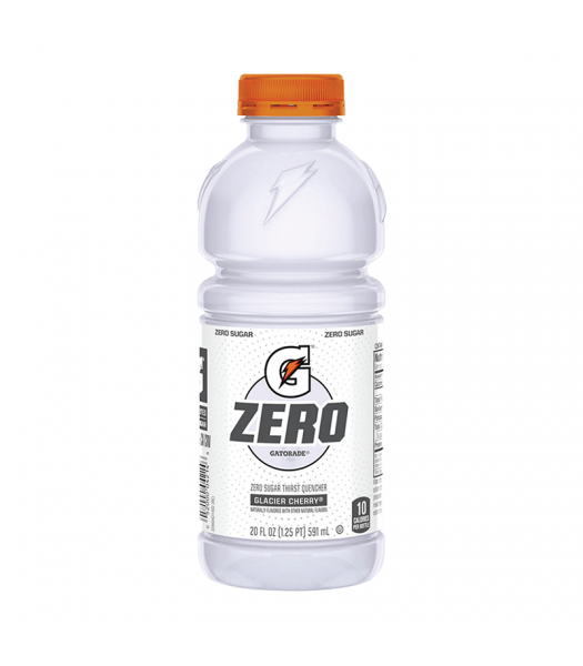 Gatorade Zero Sugar Glacier Cherry - 20fl.oz (591ml) Soda and Drinks Gatorade