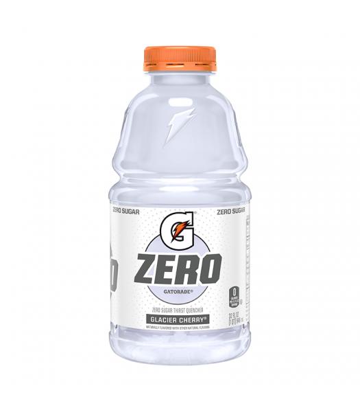 Gatorade Zero Sugar Glacier Cherry - 32fl.oz (946ml) Soda and Drinks Gatorade