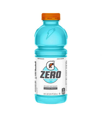 Gatorade Zero Sugar Glacier Freeze - 20fl.oz (591ml) Soda and Drinks Gatorade