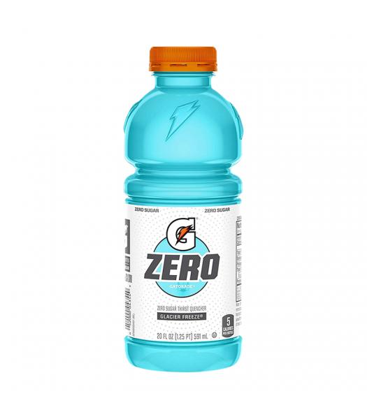 Gatorade Zero Sugar Glacier Freeze - 20fl.oz (591ml) Soda and Drinks Gatorade