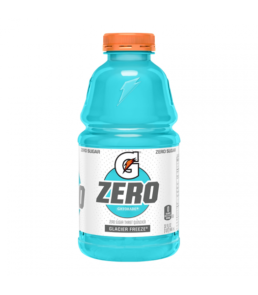 Gatorade Zero Sugar Glacier Freeze - 32fl.oz (946ml) Soda and Drinks Gatorade