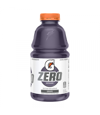 Gatorade Zero Sugar Grape - 32fl.oz (946ml) Soda and Drinks Gatorade