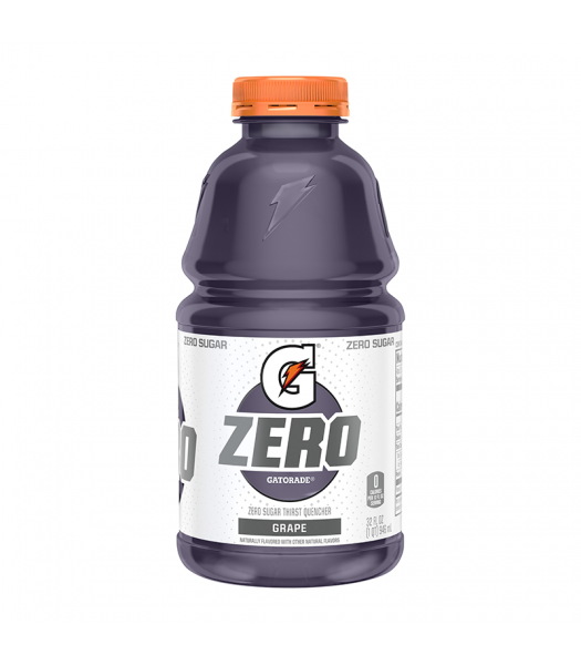 Gatorade Zero Sugar Grape - 32fl.oz (946ml) Soda and Drinks Gatorade