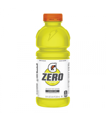 Gatorade Zero Sugar Lemon-Lime - 20fl.oz (591ml) Soda and Drinks Gatorade