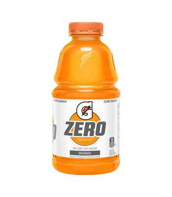 Gatorade Zero Sugar Orange - 32fl.oz (946ml) Soda and Drinks Gatorade