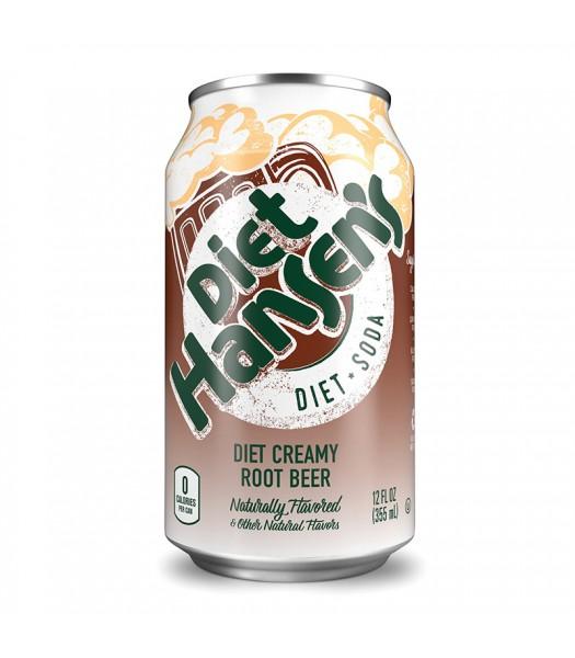 Hansen's Creamy Diet Root Beer Soda 12fl.oz (355ml) Soda and Drinks Hansen's