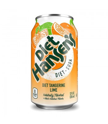 Hansen's Diet Tangerine Lime Soda 12fl.oz (355ml) Soda and Drinks Hansen's