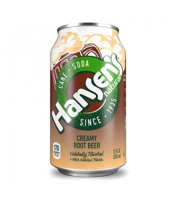 Hansen's Creamy Root Beer Soda 12fl.oz (355ml) Soda and Drinks Hansen's