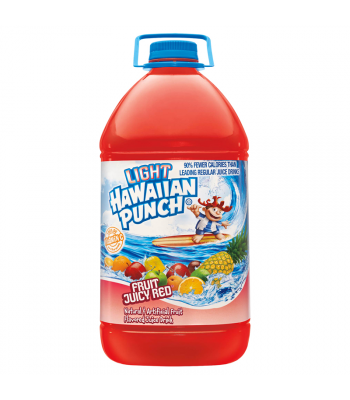 Hawaiian Punch HUGE Juicy Red Light 128oz (3.78 ltr) Fruit Juice & Drinks Hawaiian Punch
