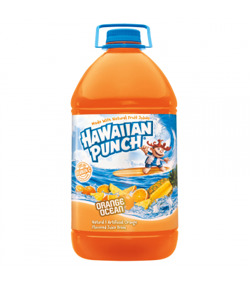 Hawaiian Punch Orange Ocean HUGE 128oz (3.78 ltr) Fruit Juice & Drinks Hawaiian Punch