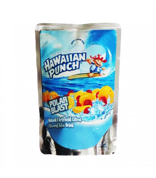 Hawaiian Punch Polar Blast Pouch 177ml Soda and Drinks Hawaiian Punch