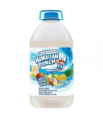 Hawaiian Punch White Water Wave - 128oz (3.78L) Soda and Drinks Hawaiian Punch