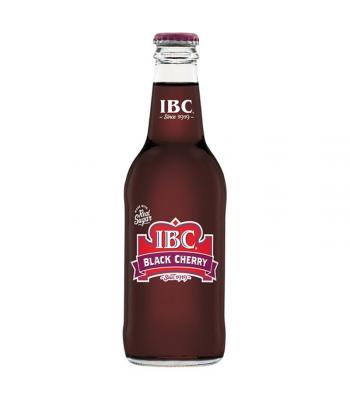 IBC Black Cherry - 12fl.oz (355ml)  Soda and Drinks