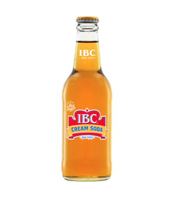 IBC Cream Soda 12oz (355ml)  Soda and Drinks