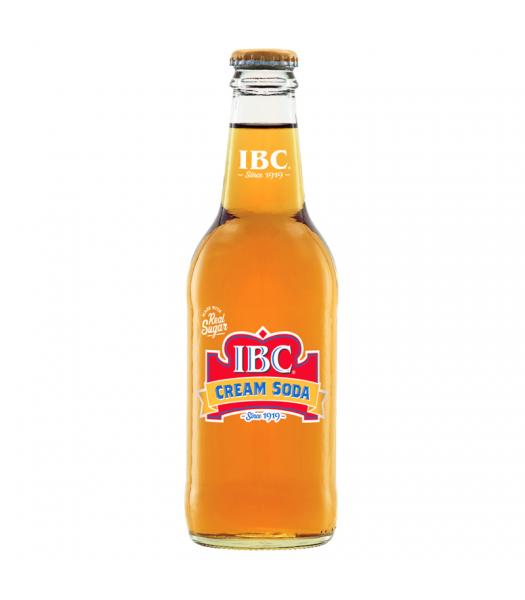 IBC Cream Soda 12oz (355ml)  Soda and Drinks