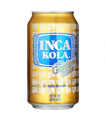 "Inca Kola ""The Golden Kola"" - 12fl.oz (355ml) Can Regular Soda"