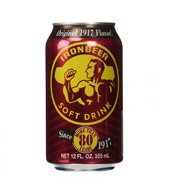 Ironbeer - 12 Oz (355ml) Soda and Drinks