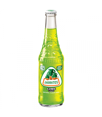 Jarritos Lime Soda 12.5fl.oz (370ml) Regular Soda Jarritos