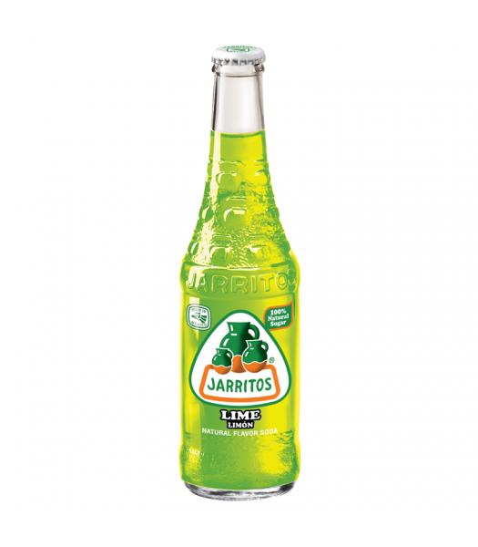 Jarritos Lime Soda 12.5fl.oz (370ml) Regular Soda Jarritos
