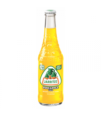 Jarritos Pineapple Soda 12.5fl.oz (370ml) Regular Soda Jarritos