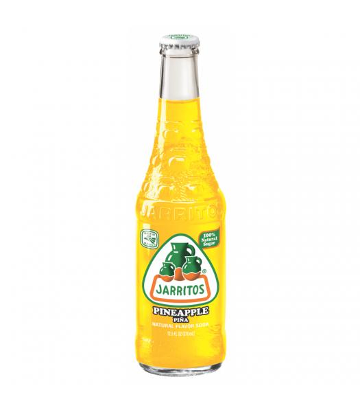 Jarritos Pineapple Soda 12.5fl.oz (370ml) Regular Soda Jarritos