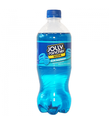 Jolly Rancher Blue Raspberry Soda 20fl.oz (591ml) Regular Soda Jolly Rancher