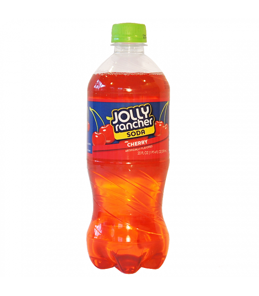 Jolly Rancher Cherry Soda 20fl.oz (591ml) Regular Soda Jolly Rancher