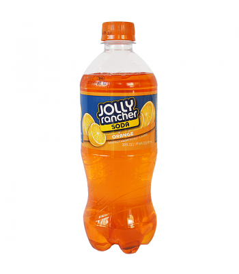 Jolly Rancher Orange Soda 20fl.oz (591ml) Regular Soda Jolly Rancher