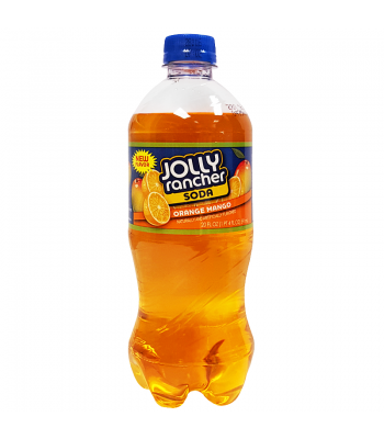 Jolly Rancher Orange Mango Soda 20oz (591ml) Regular Soda Jolly Rancher
