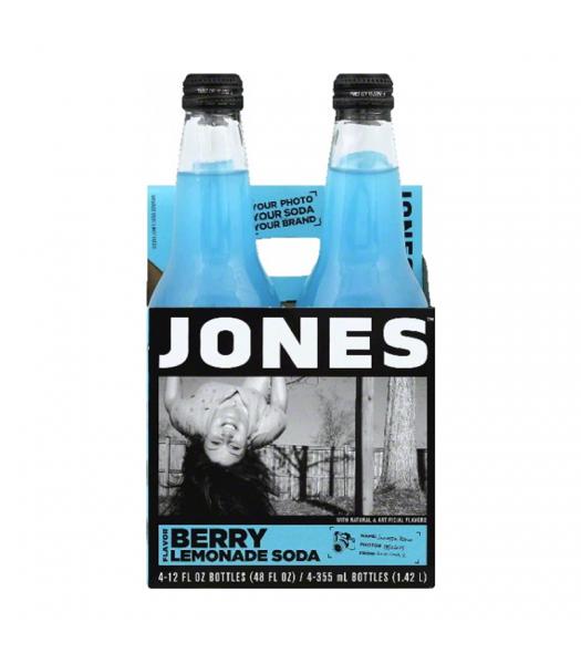 Jones Soda - Berry Lemonade - 4 Pack Soda and Drinks Jones Soda