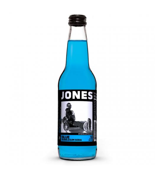 Jones Soda - Blue Bubblegum Flavour (330ml) Regular Soda Jones Soda