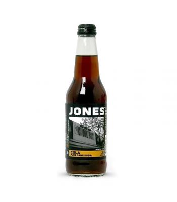 Jones Soda - Cola - 12fl.oz (355ml) Soda and Drinks Jones Soda