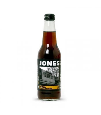 Clearance Special - Jones Soda - Cola - 12fl.oz (355ml) **DAMAGED** Clearance Zone