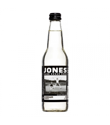 Jones Soda - Cream Soda - 12fl.oz (355ml) Regular Soda Jones Soda